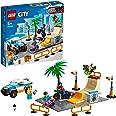 LEGO 60290 City Skatepark Bouwset met Skateboard en Vrachtwagen, BMX-Fiets en Speelgoed Vrachtwagen Voor Kinderen vanaf 5 Jaa