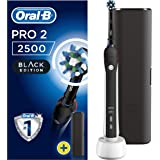 Oral-Pro 2 2500N Electric Rechargeable Toothbrush Powered by Braun - Black (Packaging May Vary) by Oral-B