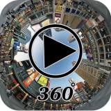 360 ° Video-Player 3D-Betrachter