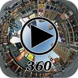 Visualizzatore 3D di video player a 360 °