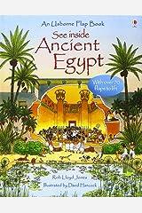 Egypt (See Inside) (Usborne See Inside): 1 Hardcover
