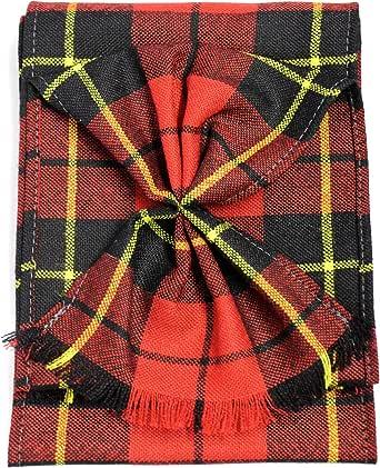 Scottish 100% Wool Tartan Ladies Mini Sash With Rosette - Wallace