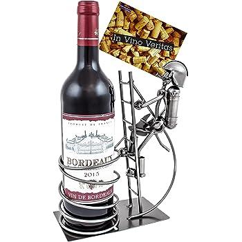 brubaker porte bouteille de vin pompier avec extincteur. Black Bedroom Furniture Sets. Home Design Ideas