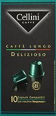 Cellini Lungo Delizioso 10 Kapseln, 5er Pack (5 x 50 g)