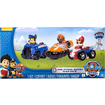 Paw Patrol - 6024059 - Paquet de 3 Véhicules De Secours 2 - Pat  Patrouille  - Chase, Zuma et Ryder b12f28173bc5