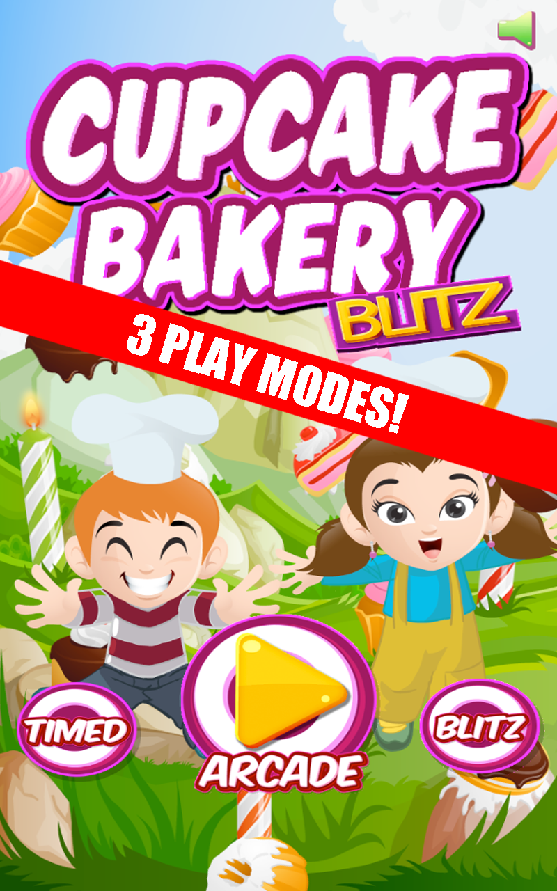 cupcake bakery blitz match 3 game apps f r android. Black Bedroom Furniture Sets. Home Design Ideas
