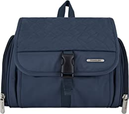 Travelon Hanging Kit, Steel Blue Quilted, One Size