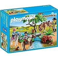 Playmobil - Cavaliers avec Poneys et Cheval - 6947