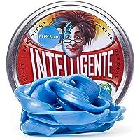 Intelligente Knete Brille dans le noir (bleu fluo), sans BPA et sans gluten.