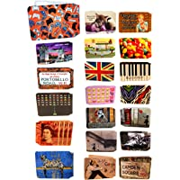 (80+ Designs) Bus Pass Wallet Credit Travel Rail Ticket Card Holder for Oyster Business ID Card (100x Assorted Wallets…