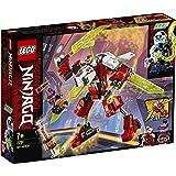 LEGO71707NinjagoRobot-JetdeKaiJuguetedeConstrucciónparaNiños+7añoscon2MiniFigurasdeNinjas