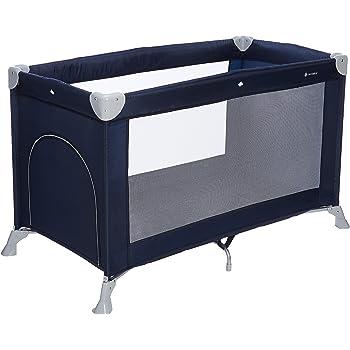 ee288d46088b MON BEBE Lit parapluie bébé ultra léger pliable avec sac de transport -  Navy Blue