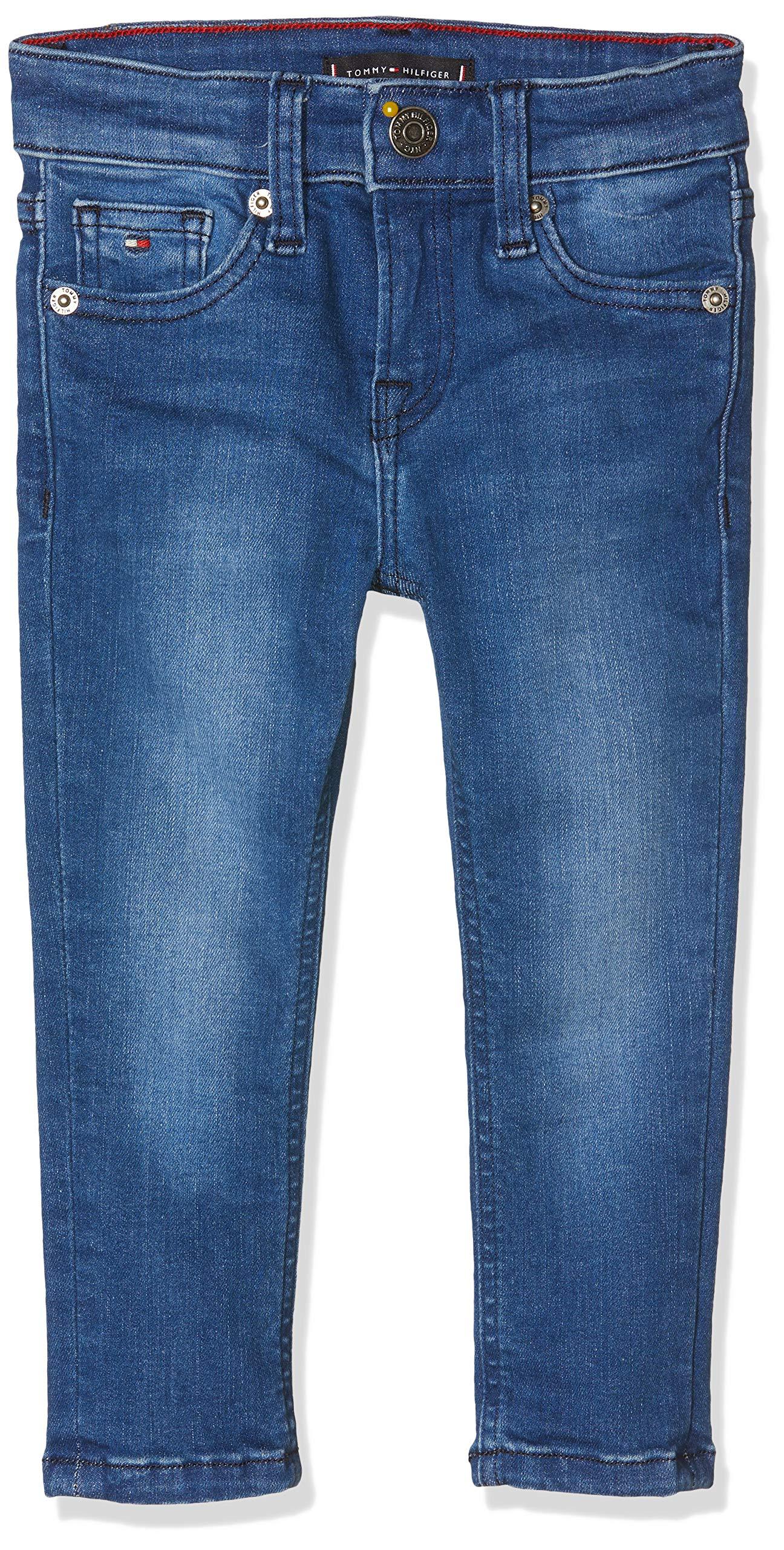 Tommy Hilfiger Simon Skinny Vimbst Jeans, Azul (Ville Mid Blue Stretch 911), 92 para Bebés 1