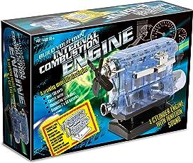 Haynes Set per costruire un modellino funzionante di un motore d'auto a benzina, con suoni di accensione e candele luminose [lingua inglese]