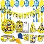 ThemeHousePartyv Minion Super Saver Birthday Party Combo