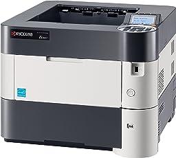 Kyocera Ecosys P3050dn SW-Laserdrucker (drucken bis zu 50 Seiten/Minute, 1.200 dpi)