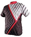 IXS Sports Division Herren Trikot Bashow, schwarz-rot, XXL