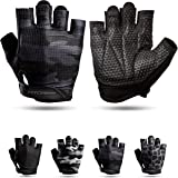 Fitgriff® Fitness Handschoenen V3 - Anti Slip Dumbbell Gloves - Heren en Dames - voor Sport, Gym, Gewichten, Bescherming, Cro