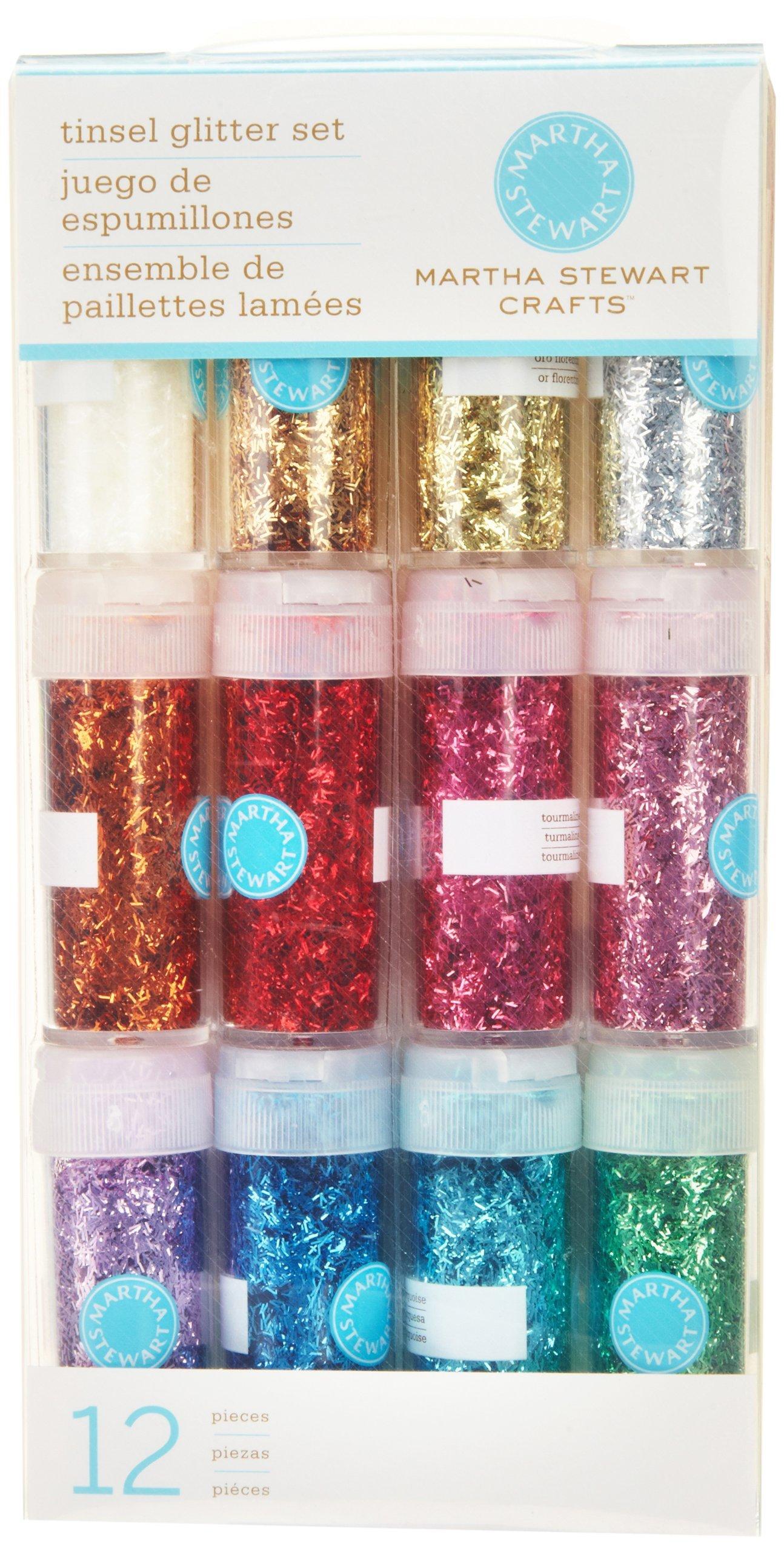 91SND25YAeL - Martha Stewart Crafts glitter, 12-pack