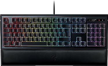 Razer Ornata Chroma Gaming Tastatur (Mecha-Membran Tasten, Chroma RGB Beleuchtung und Ergonomischen Design mit Handballenauflage)