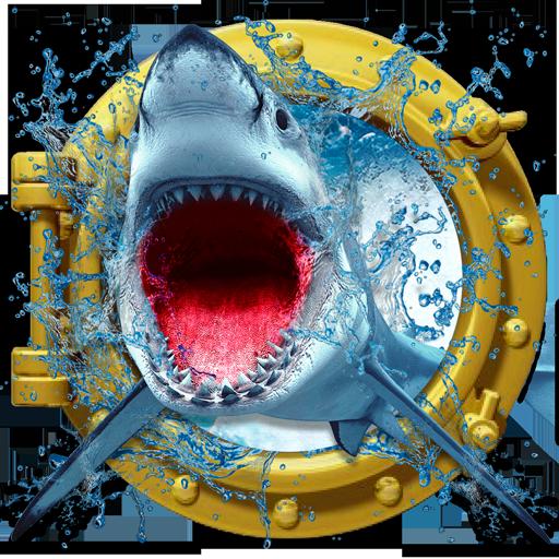 Crazy Shark ataque 3D