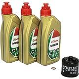 Motul 10w 40 Öl Mahle Ölfilter Für Suzuki Sv 650 S 99 10 Av By Ölwechselset Inkl Motoröl Filter Dichtring Auto