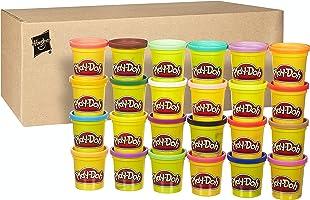 Play-Doh Hasbro 20383F03 Kollektion mit 24 Farben, Knete