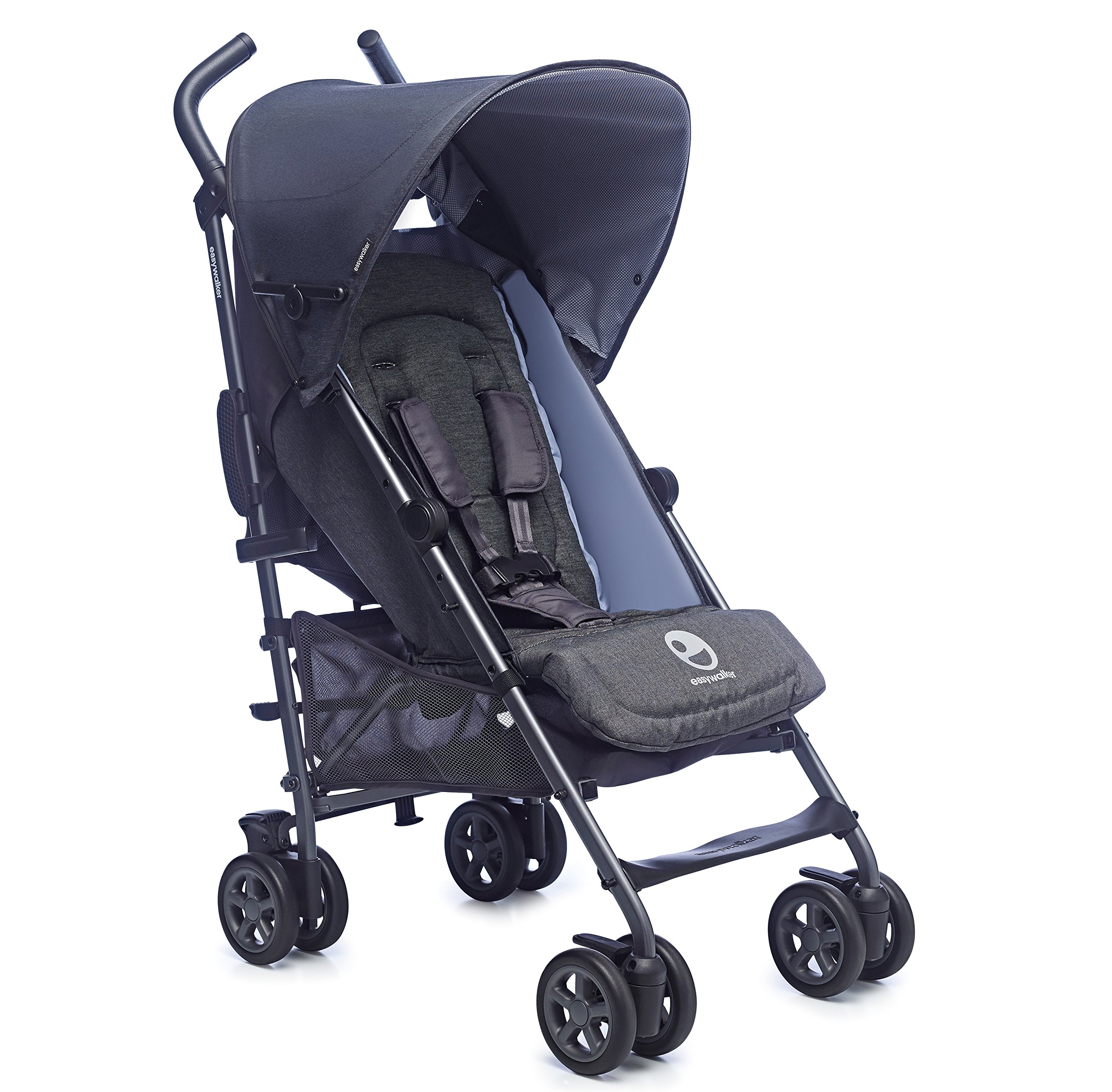 Easywalker Buggy, Berlin Breakfast  Suitable from birth 5 point 3 position harness Four recline positions with near flat recline 1