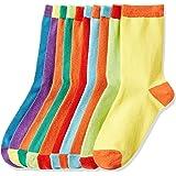 Marca Amazon - RED WAGON Coloured Heels - Calcetines Niños