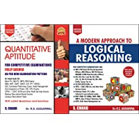 Quantitative Aptitude for Competitive Examinations with A Modern Approach to Logical Reasoning R S Agarwal S Chand…