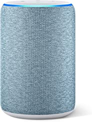 All-new Amazon Echo (3rd generation) | Smart speaker with Alexa, Twilight Blue Fabric
