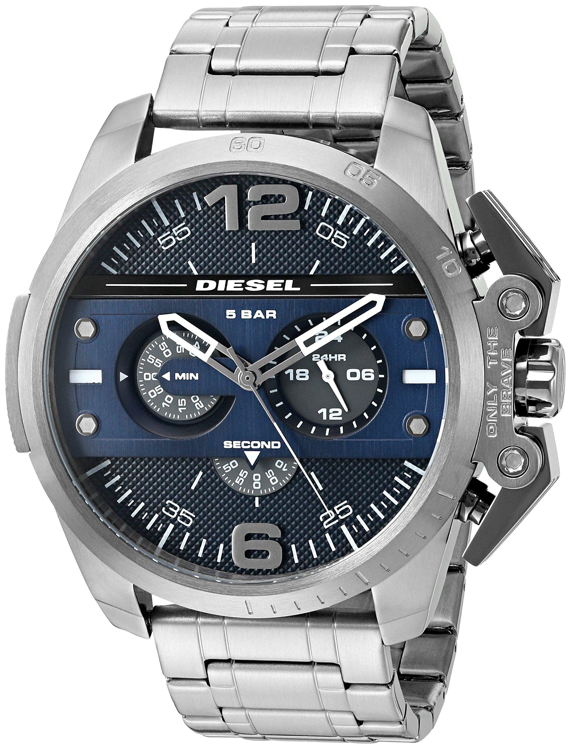 Diesel Advanced – Reloj análogico de cuarzo con correa de acero