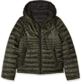 IKKS Junior Doudoune Light Reversible Noire/Leopard impermeable para Niñas