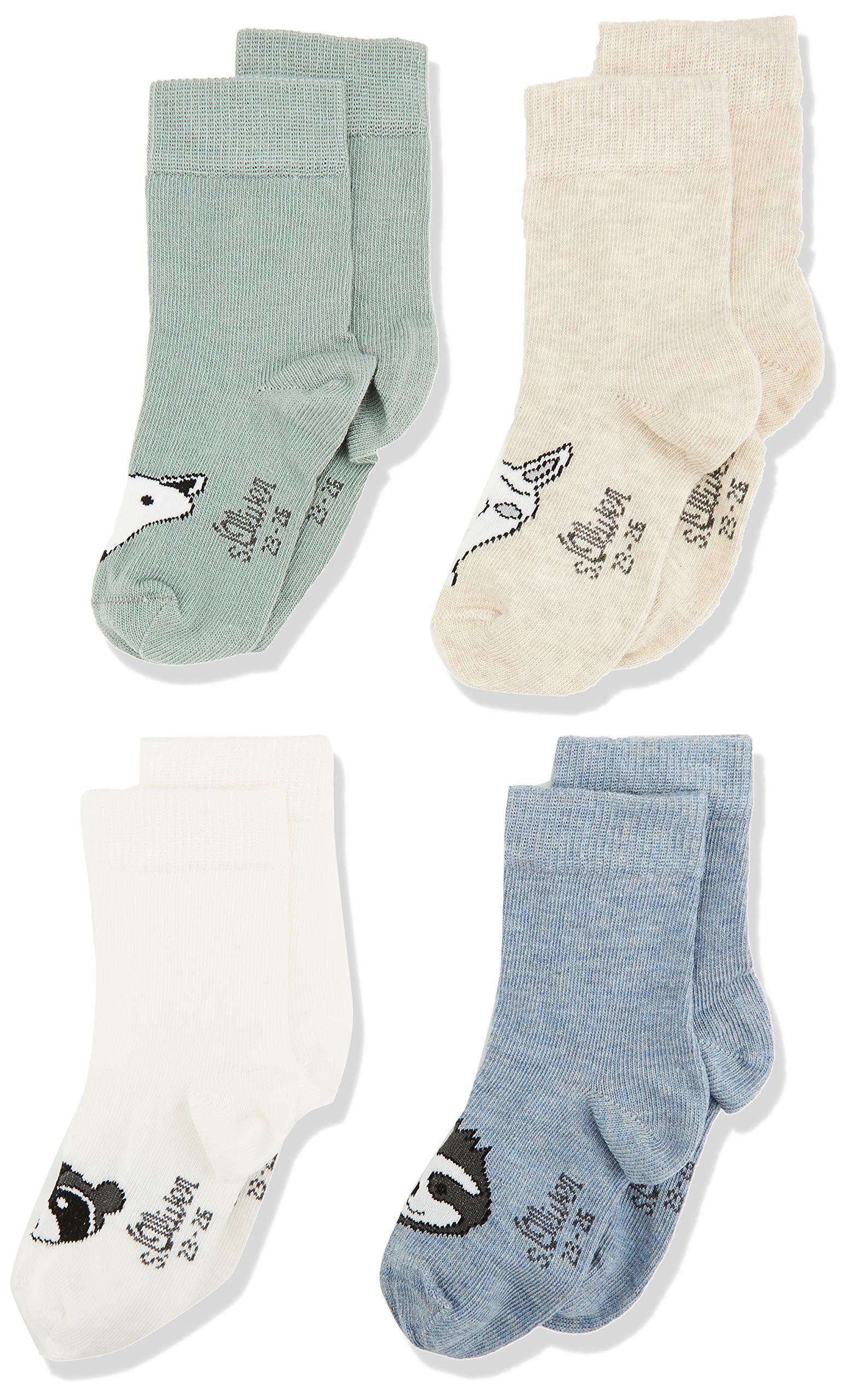 s.Oliver Socks Calcetines (Pack de 4) para Bebés 3
