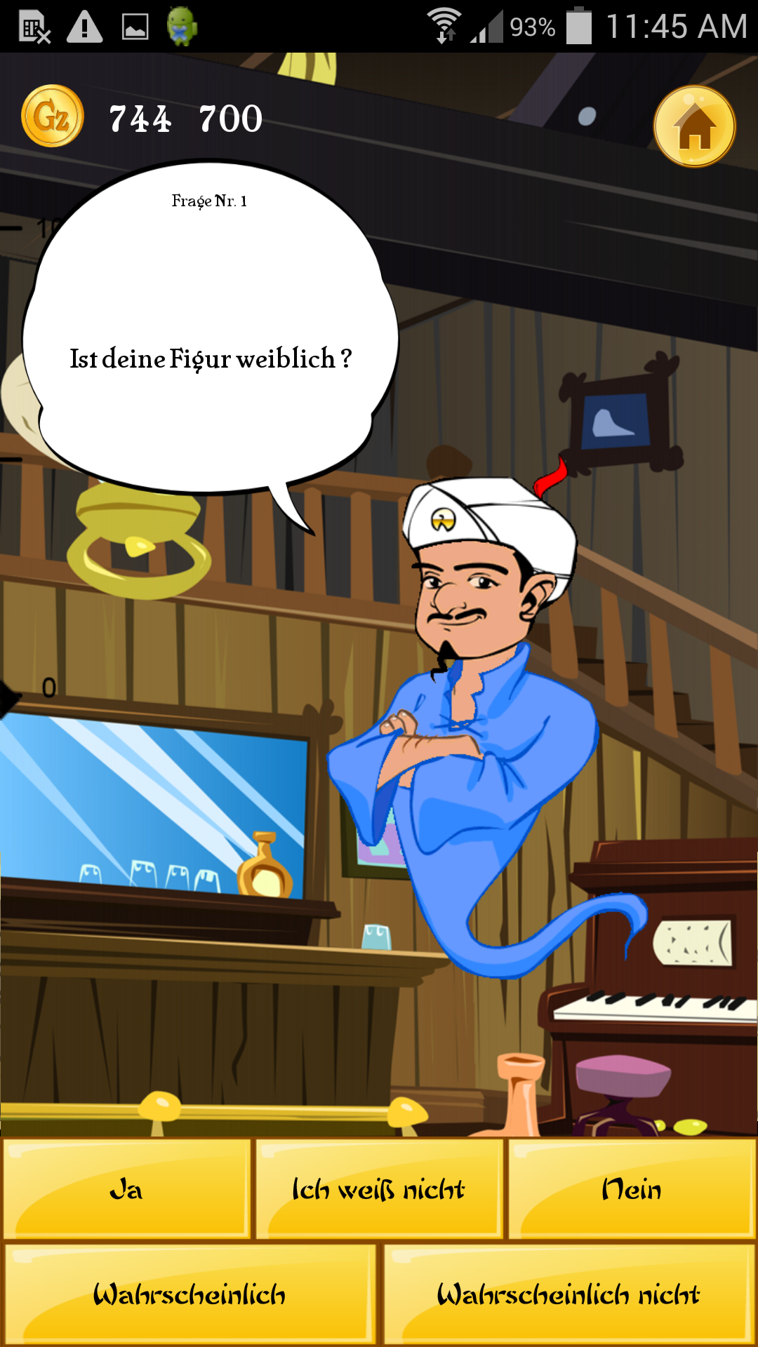 Akinator the Genie Screenshot