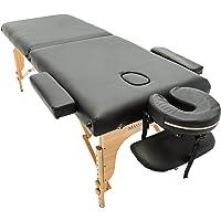 Table de massage pro luxe - Massage Imperial - Charbury Portable - Plateau 2 Pièces - Panneaux Reiki - Légère - Couleur : Noir 2