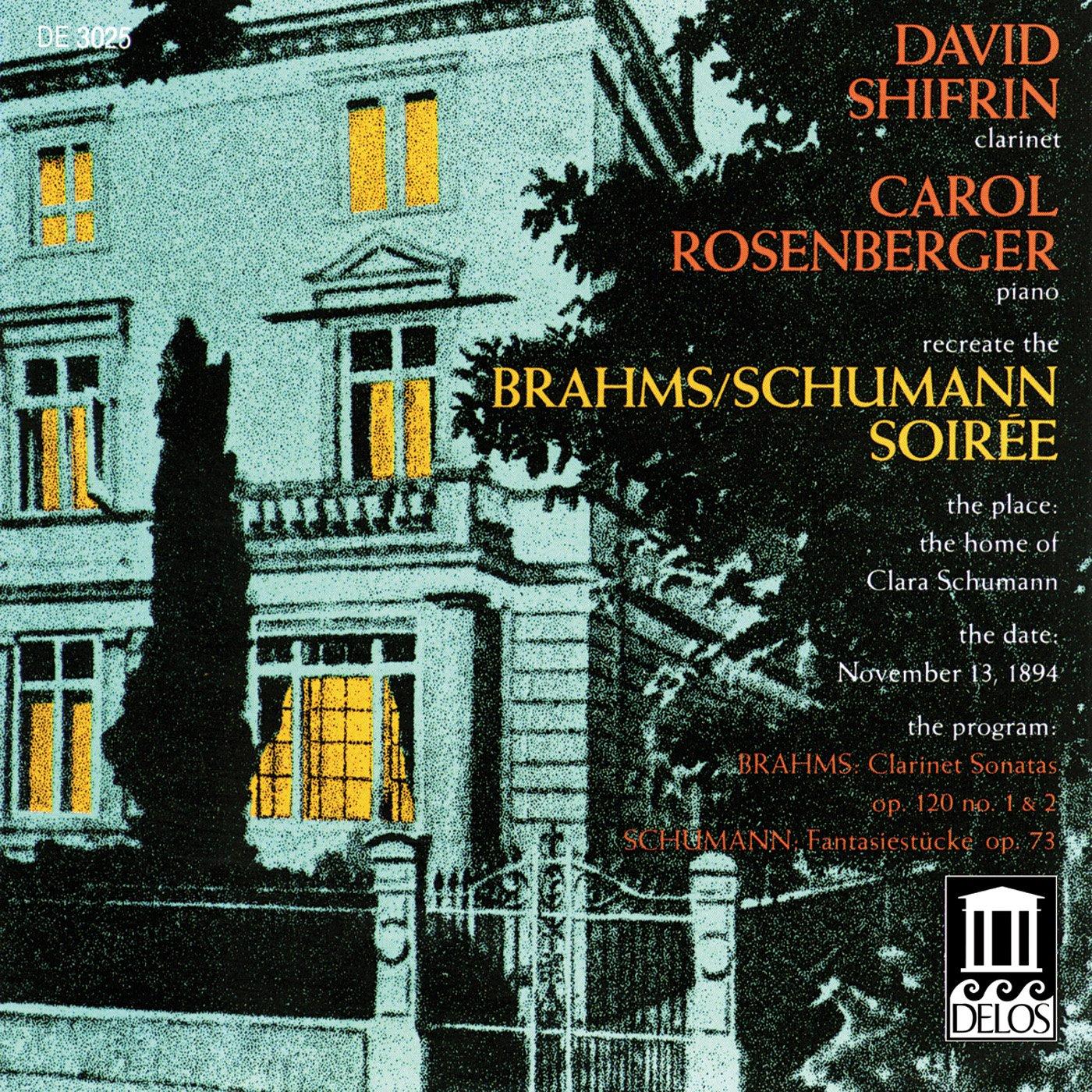 Sonate Per Clarinetto Nn.1 E 2 Op.120