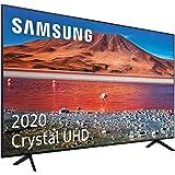 """Samsung Crystal UHD 2020 43TU7005- Smart TV de 43"""", Resolución 4K, HDR 10+, Crystal Display, Procesador 4K, Función One Remot"""