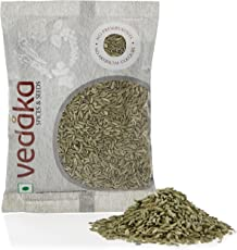 Amazon Brand - Vedaka Fennel Seeds (Saunf), 100g