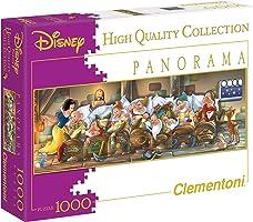 Clementoni 39004 Disney Panorama Biancaneve 1000 Parça Puzzle
