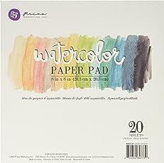 """Prima Marketing Watercolor Paper Pad""""5"""