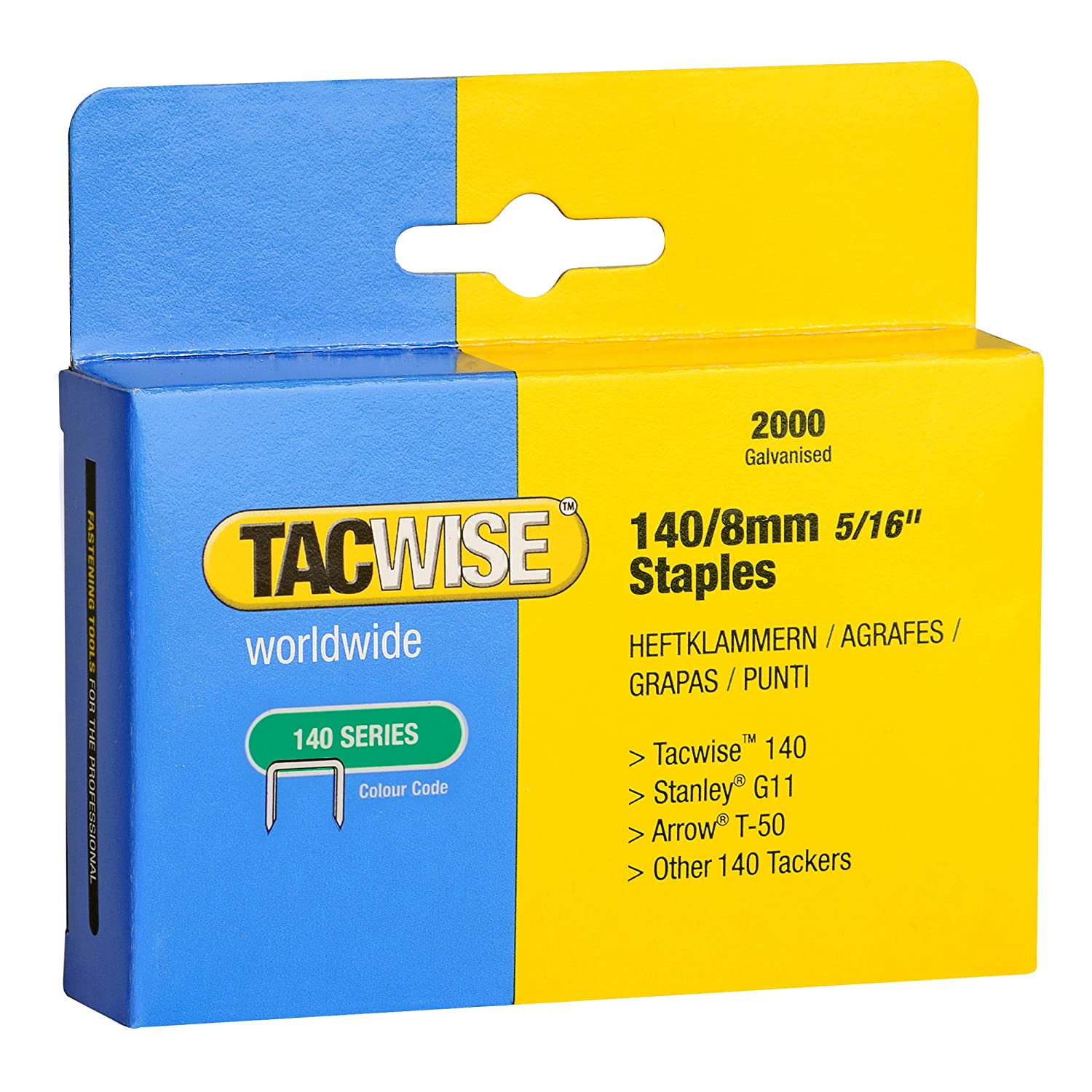 tacwise 140 14mm staples for staple gun 2000