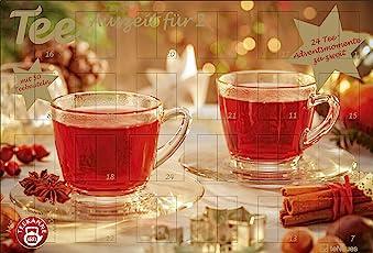 Tee-Adventskalender für Zwei 2018 - Adventskalender, Teekalender, Foodkalender, Weihnachtskalender - 56 x 38,2