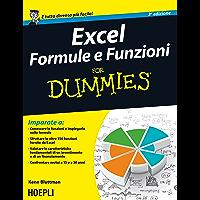 Excel formule e funzioni For Dummies