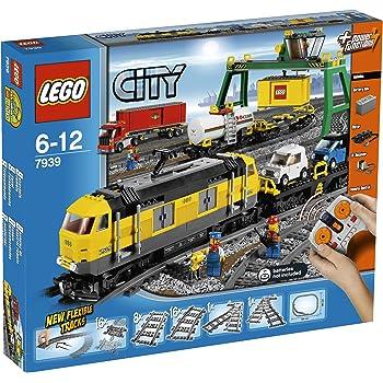 lego 7938 jeux de construction lego city le train de passagers jeux et jouets. Black Bedroom Furniture Sets. Home Design Ideas