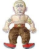 Fuzzu Wladimir Putin Spielzeug für Hunde aus Plüsch - Der Hit aus den USA - Kuscheltier aus Plüsch