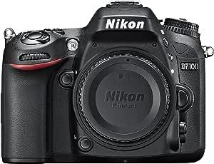 Nikon D7100 SLR-Digitalkamera (24 Megapixel, 8 cm (3,2 Zoll) TFT-Monitor, Full-HD-Video) nur Gehäuse schwarz