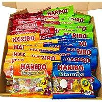 Peak Sweets 4 Varieties Haribo Multipack Sweets Hamper for Kids - 40 Haribo Bags of Sweet Treats for Kids - Letterbox…