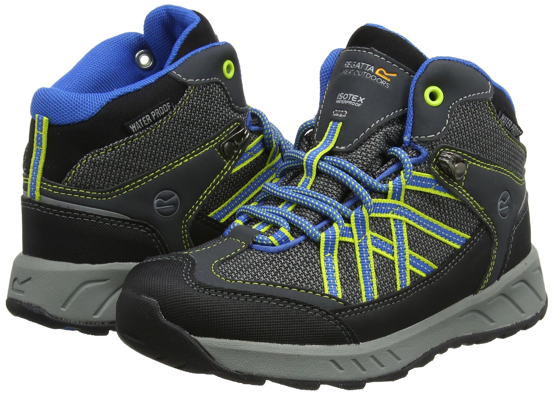 Regatta Unisex Kids Samaris Mid Junior Walking Boot High Rise Hiking 5