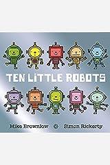 Ten Little Robots Paperback